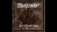 Rhapsody - Unholy Warcry (live)