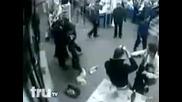 Bagarre 4 vigiles et 4 hooligans en Siberie