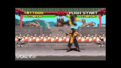 Олигофрен Се Опитва Да Превърти Mortal Kombat 1