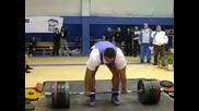 Mikhail Koklyaev 415 kg tqga