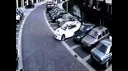 Mitsibushi Lancer Police Car chase Drift