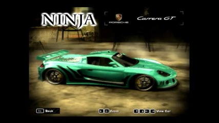 Nfs Mw My Cars by Ninja