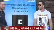 David Bisbal Reportaje & Entrevista / Visita Cosentino