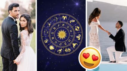 На 3 зодии 2019-а им готви много, много любов! Кои са те?