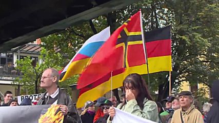 Germany: 'Fortress Europe' protesters demand closure of borders in Dresden
