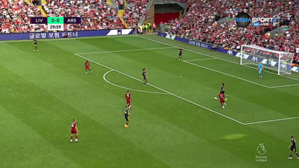 Изнасяне на топката на Арсенал под преса