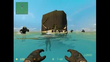 Counter Strike Source Zombie Escape - Zm Paradise.