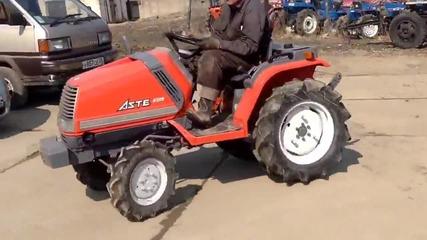 Японски мини трактор Kubota Aste 15