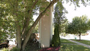 Not much room with a view? Chicago suburb's 'Skinny house' causes internet stir