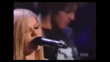 Avril Lavigne - My Happy Ending - Live -