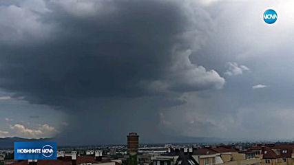 Лятна буря удари София