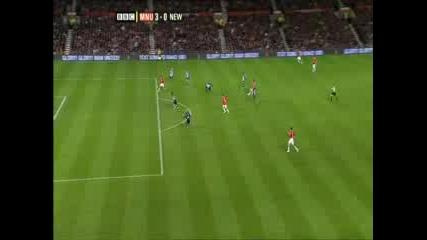 Манчестър Юнайтед - Нюкасъл 3 - 0 (роналдо)