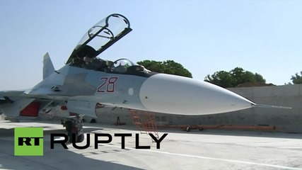Syria: Russian Sukhoi jets continue airstrikes against militant targets