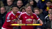 Highlights: Watford - Manchester United 21/11/2015