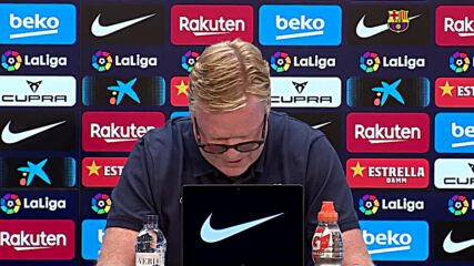 Spain: Barca coach Koeman asks for 'patience,' leaves w/o taking questions at press conference
