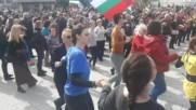 3 март 2020 г. Бургас. Празнично хоро (2)