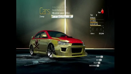 Nfs Undercover my cars save by Fast And Furions