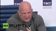 Rusia: MMA fighter Jeff Monson says Russia fills personal void