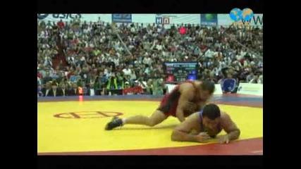 Михаил Ганев - Световен шампион по борба в категория до 84 кг.