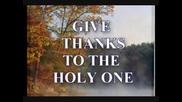Give thanks - Запей с благодарност