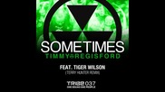 Timmy Regisford feat. Tiger Wilson - Sometimes (terry Hunter's Bang the Vocal Mix)