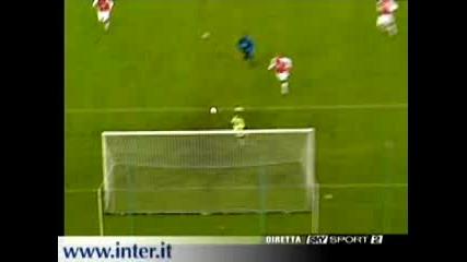 Inter - Arsenal (vieri)