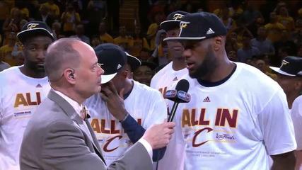 Кливлънд е първият финалист в НБА