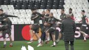 Байерн тренира на в Истанбул за протоколен реванш