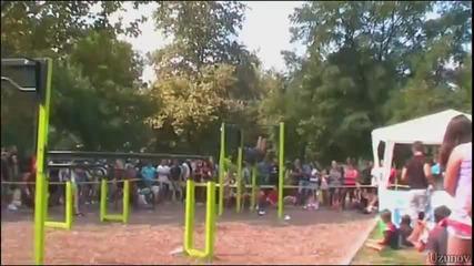 Street Workout турнир в Пловдив - THE MOVIE - 13.09.2014 - Част 1