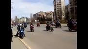 Рокерското шествие в София