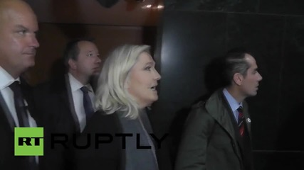 France: Le Pen defends anti-Muslim remarks as she appears in court