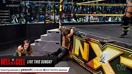 Raquel Gonzalez & Dakota Kai vs. Kayden Carter & Kacy Catanzaro: WWE NXT, June 15, 2021