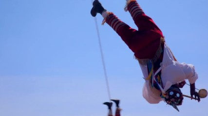 Древен мексикански ритуал на летене (