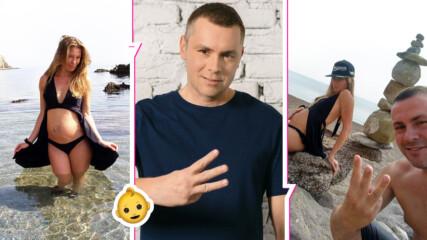 Три за щастие: Ицо Хазарта в очакване на трето детенце, жена му - в напреднала бременност!