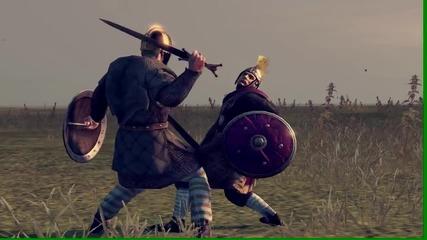 Total war Attila: Римлянин срещу викинг