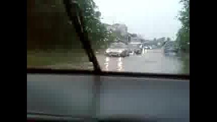 наводнение варна 04.07.2009г.
