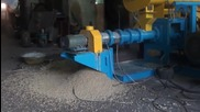 Floating Fish Feed Pellet Machine / Wet Type Fish Feed Extruder