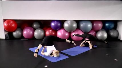 Стегнати бедра с йога