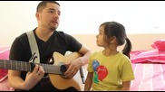 Най-сладкия семеен дует! Баща и дъщеря!