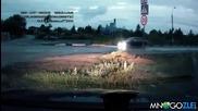 Как се минава на легнал полицай в Русия