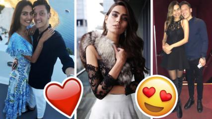Йозил лети на футболните криле заради красивата Мис Турция