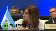 "Panama: NGOs ""aim to destabilise"" Latin American governments says Argentine President Kirchner"