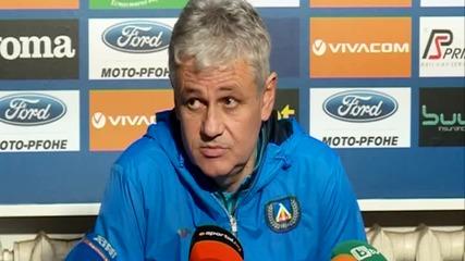 Мнението на Стойчо Стоев преди дербито със Славия