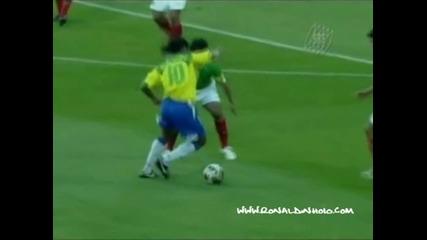 Ronaldinho в действие