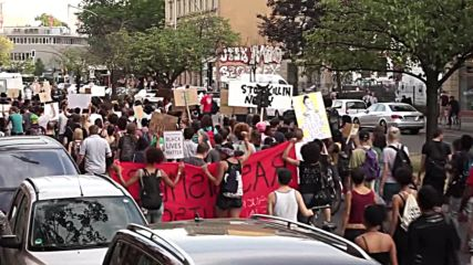 Germany: Black Lives Matter activists march through Berlin
