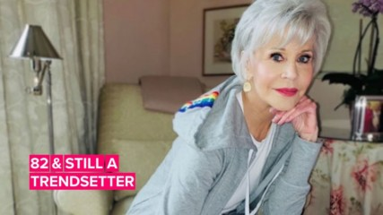 Jane Fonda releases her own line of sweat suits perfect for quarantine