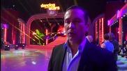 Dancing Stars - Димитър Тодоранов подкрепя Антон и Дорина (17.04.2014г.)