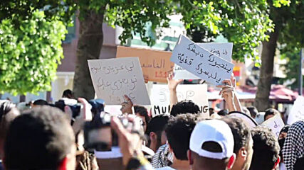 Tunisia: Protesters clash with police at Tunis demo against police violence