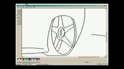 How To Draw A Car In Ms. Paint
