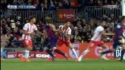 Барса громи с 4:0 след прекрасни голове на Меси и Суарес! 08.04.2015 Барселона - Алмерия 4:0